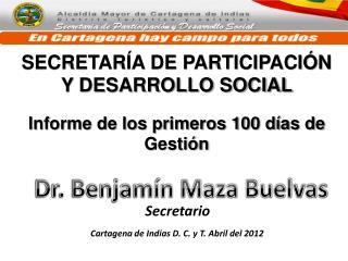 SECRETARÍA DE PARTICIPACIÓN Y DESARROLLO SOCIAL