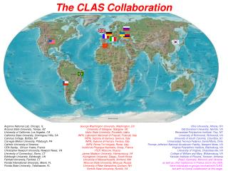 The CLAS Collaboration