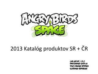 2013 Katalóg produktov SR + ČR