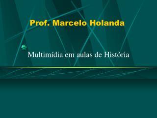 Prof. Marcelo Holanda