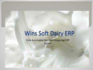 Wins Soft Dairy ERP