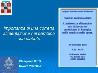 Giampaolo Biroli  Novara Valentina