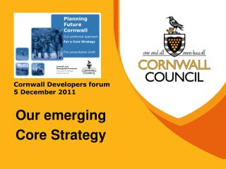Cornwall Developers forum 5 December 2011