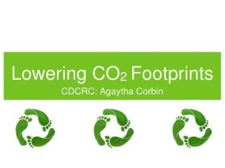 Lowering CO 2  Footprints