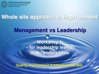 Quality, Improvement & Effectiveness Unit