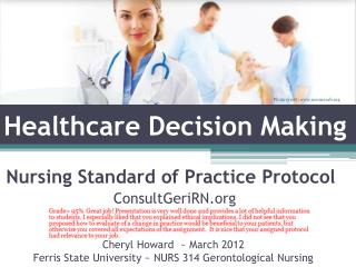 Healthcare Decision Making