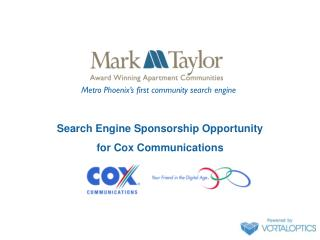 Search Engine Sponsorship Opportunity for Cox Communications