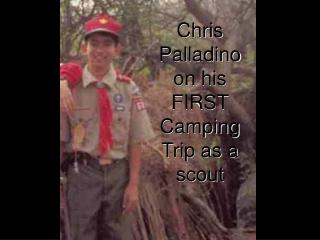 Chris Palladino on his FIRST Camping Trip as a scout