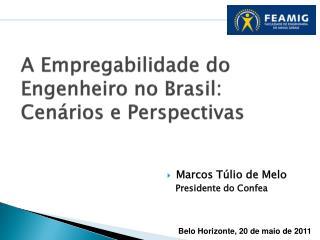 A Empregabilidade do Engenheiro no Brasil: Cenários e Perspectivas