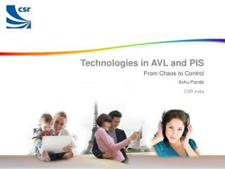 Technologies in AVL and PIS