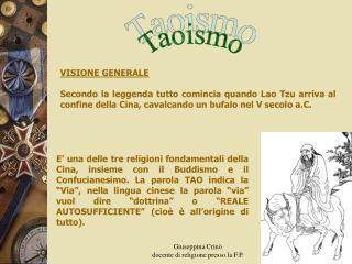 Giuseppina Crin                                                                                     docente di religione