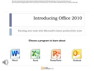 Introducing Office 2010