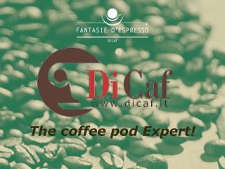The coffee pod Expert!