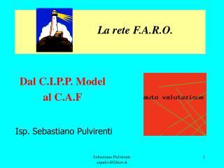 Dal C.I.P.P. Model  al C.A.F