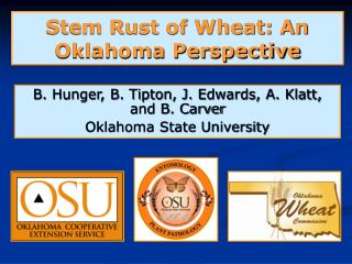 Stem Rust of Wheat: An Oklahoma Perspective