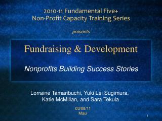 Fundraising & Development