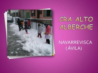 CRA ALTO ALBERCHE