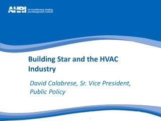 David Calabrese, Sr. Vice President, Public Policy