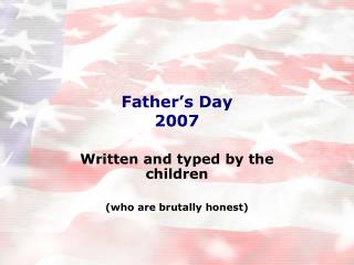 Father's Day 2007