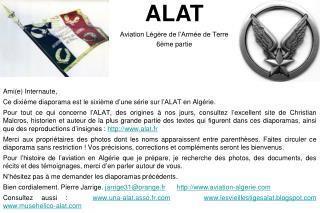ALAT Aviation Légère de l'Armée de Terre 6ème partie