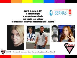 COGAM – Colectivo de Lesbianas, Gays, Transexuales y Bisexuales de Madrid
