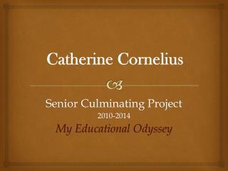 Catherine Cornelius