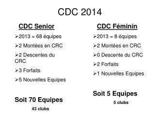 CDC 2014