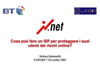 Cosa può fare un ISP per proteggere i suoi utenti dai rischi online?