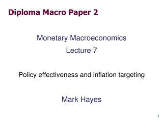 Diploma Macro Paper 2
