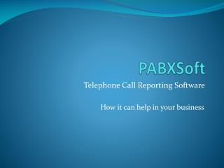 PABXSoft
