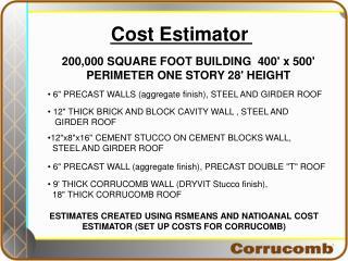 Cost Estimator