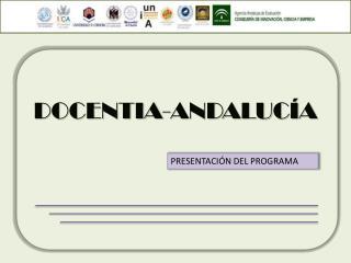 DOCENTIA-ANDALUC�A
