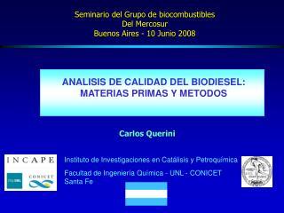 Instituto de Investigaciones en Catálisis y Petroquímica
