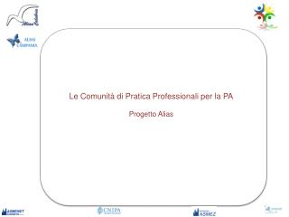 Le Comunità di Pratica Professionali per la PA Progetto Alias