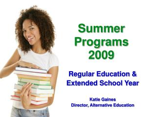 Summer  Programs  2009