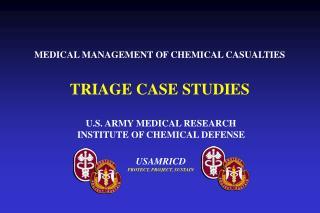TRIAGE CASE STUDIES