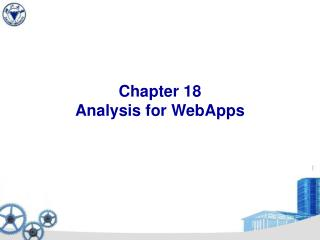 Chapter 18 Analysis for WebApps