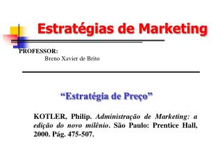 Estrat gias de Marketing