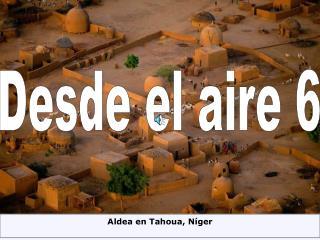 Aldea en Tahoua, Níger