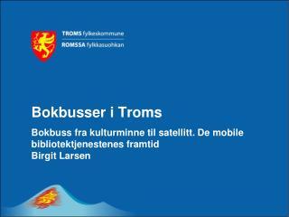 Bokbusser i Troms