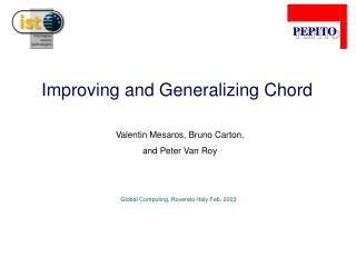 Improving and Generalizing Chord