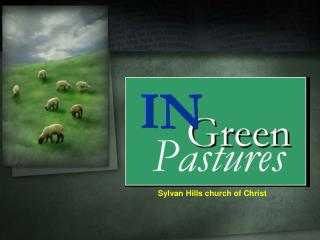 Sylvan Hills church of Christ