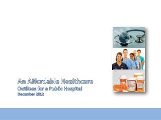 An Affordable Healthcare Outlines for a Public Hospital December 2012
