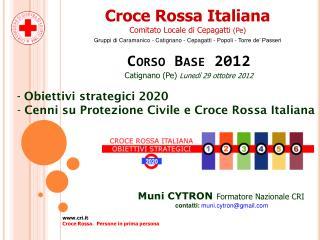 Croce Rossa Italiana Comitato Locale di Cepagatti  (Pe)