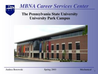 MBNA Career Services Center
