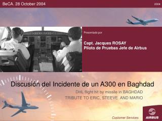 Discusión del Incidente de un A300 en Baghdad