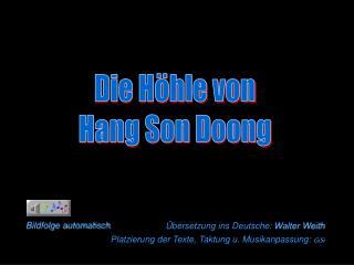 Die Höhle von Hang Son Doong