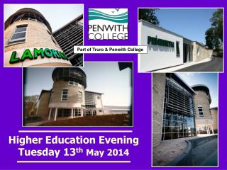 Higher Education Evening Tuesday 13 th May 2014