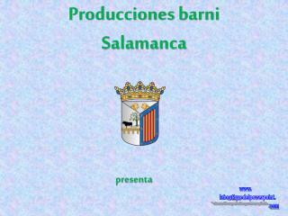 Producciones  barni Salamanca