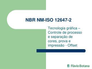 NBR NM-ISO 12647-2